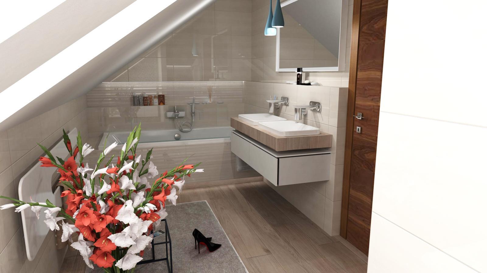 Vizualizácie kúpeľní - Obrázok č. 88