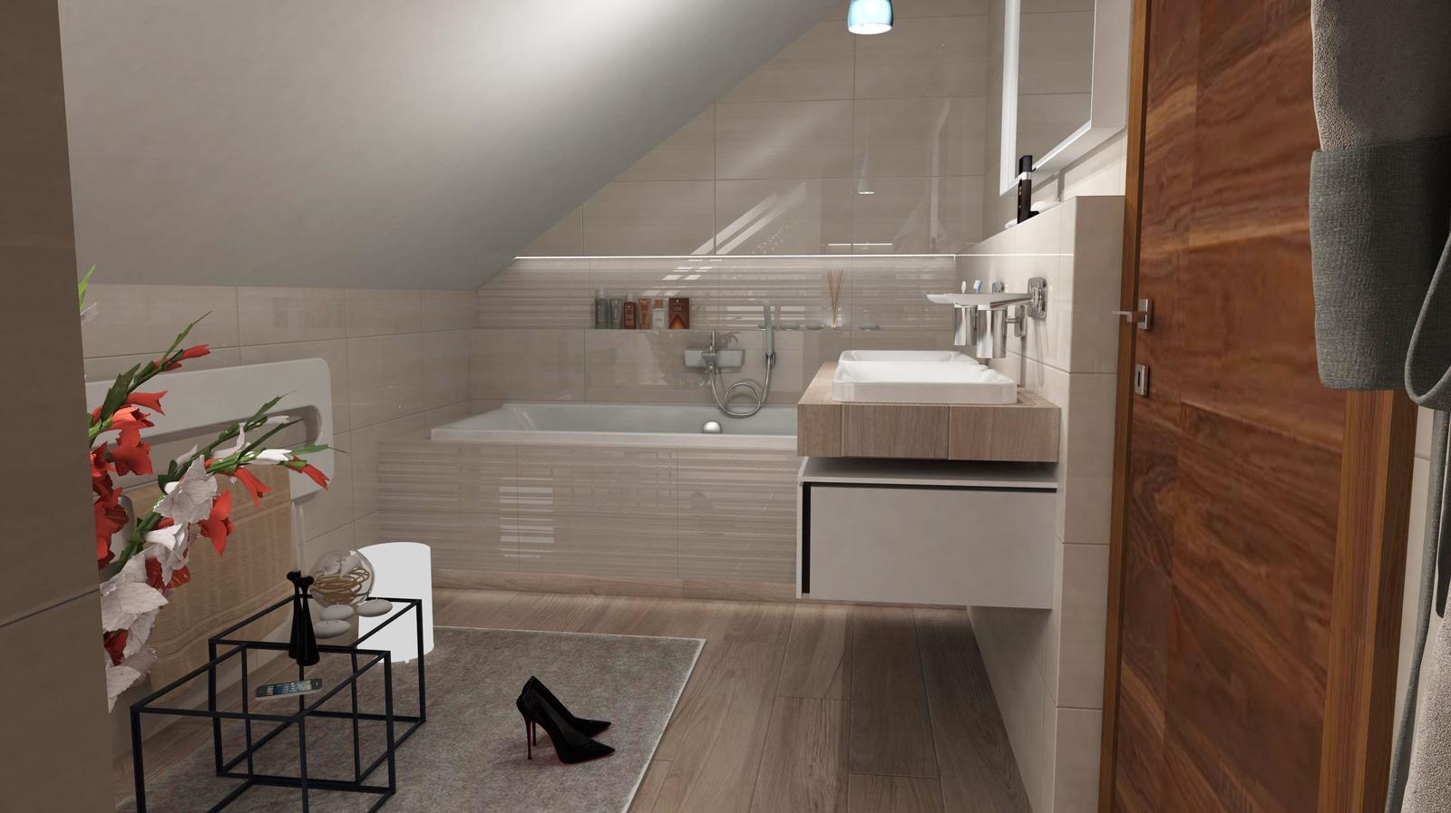 Vizualizácie kúpeľní - Obrázok č. 89