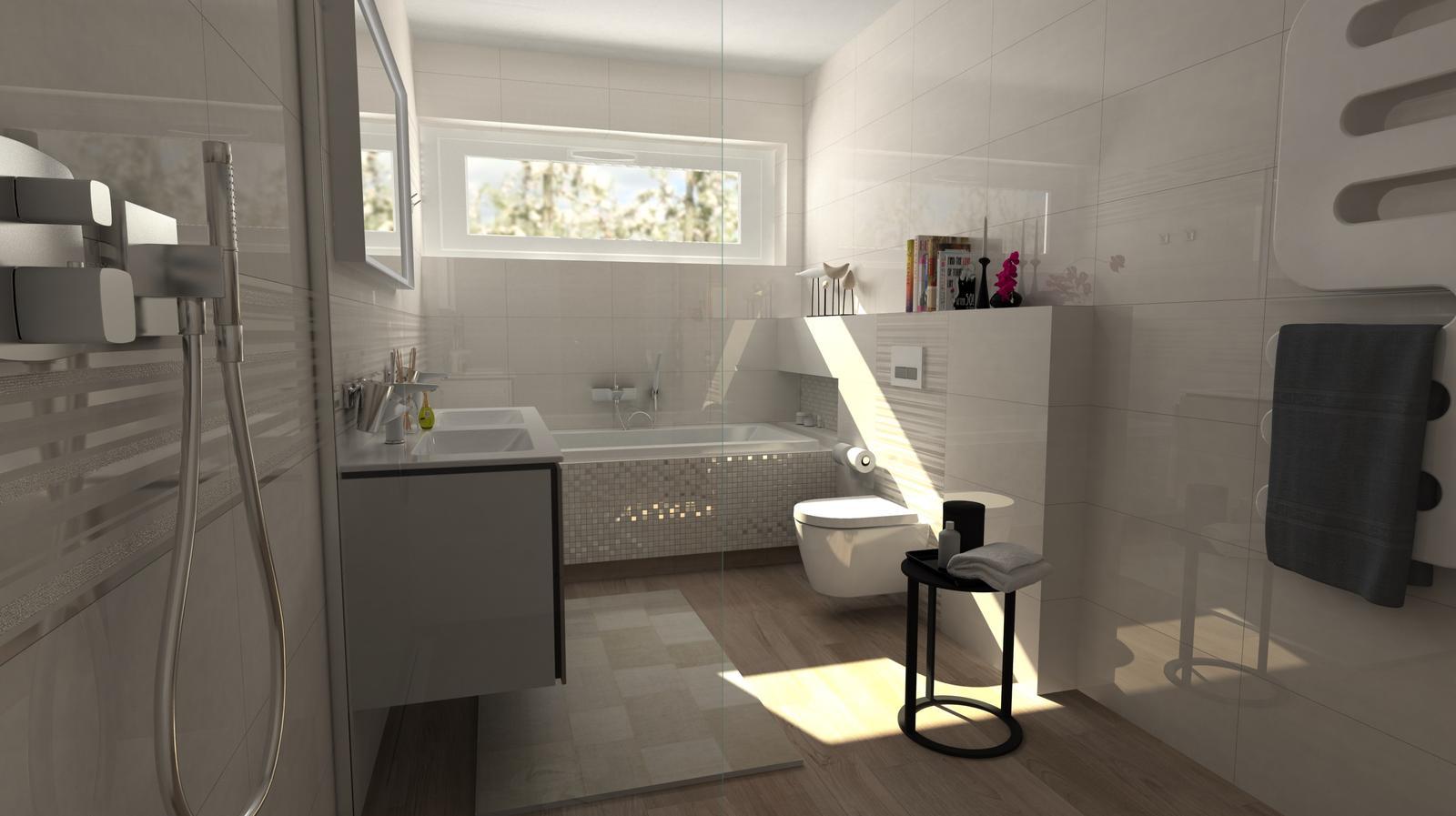 Vizualizácie kúpeľní - Obrázok č. 90