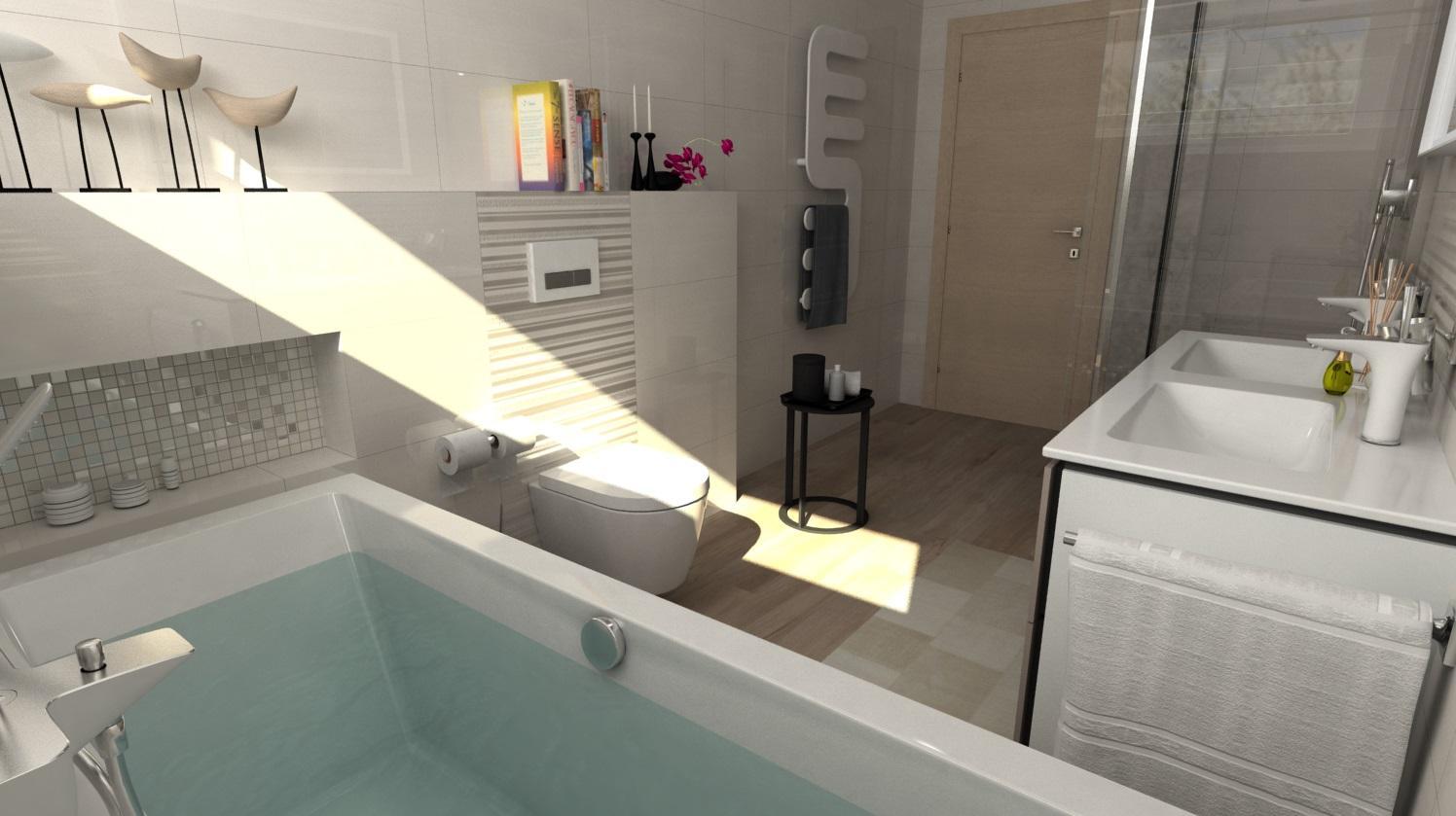 Vizualizácie kúpeľní - Obrázok č. 91