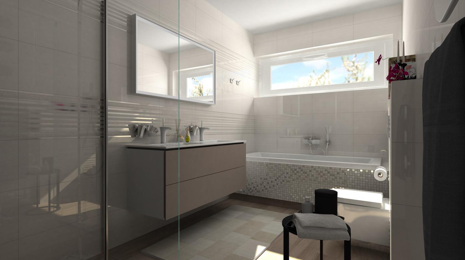 Vizualizácie kúpeľní - Obrázok č. 92
