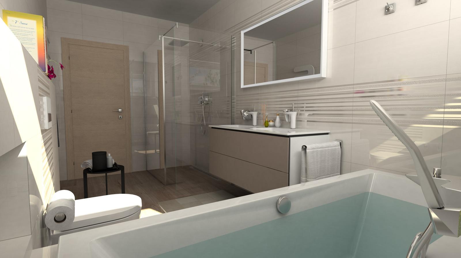 Vizualizácie kúpeľní - Obrázok č. 93