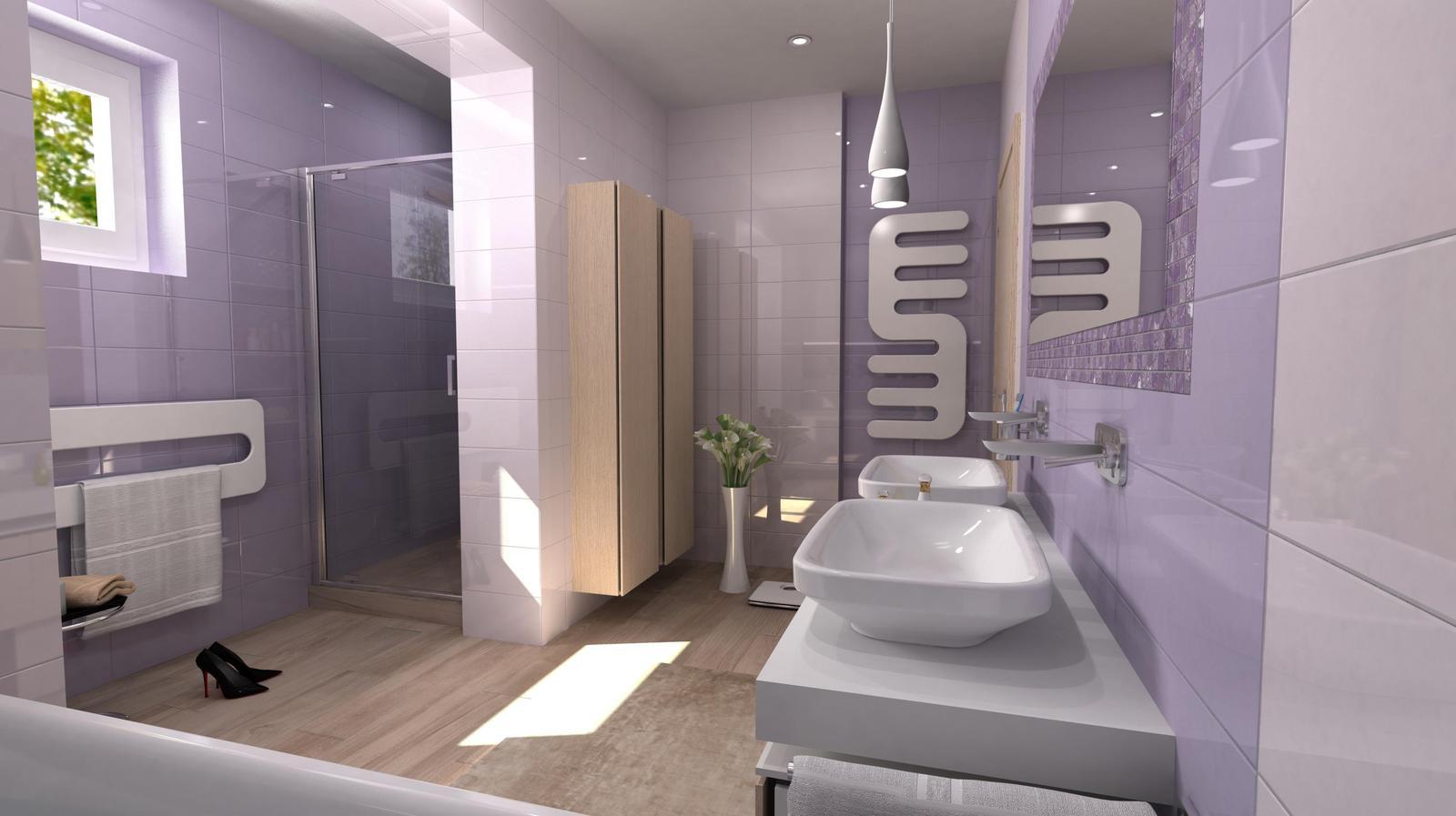Vizualizácie kúpeľní - Obrázok č. 97
