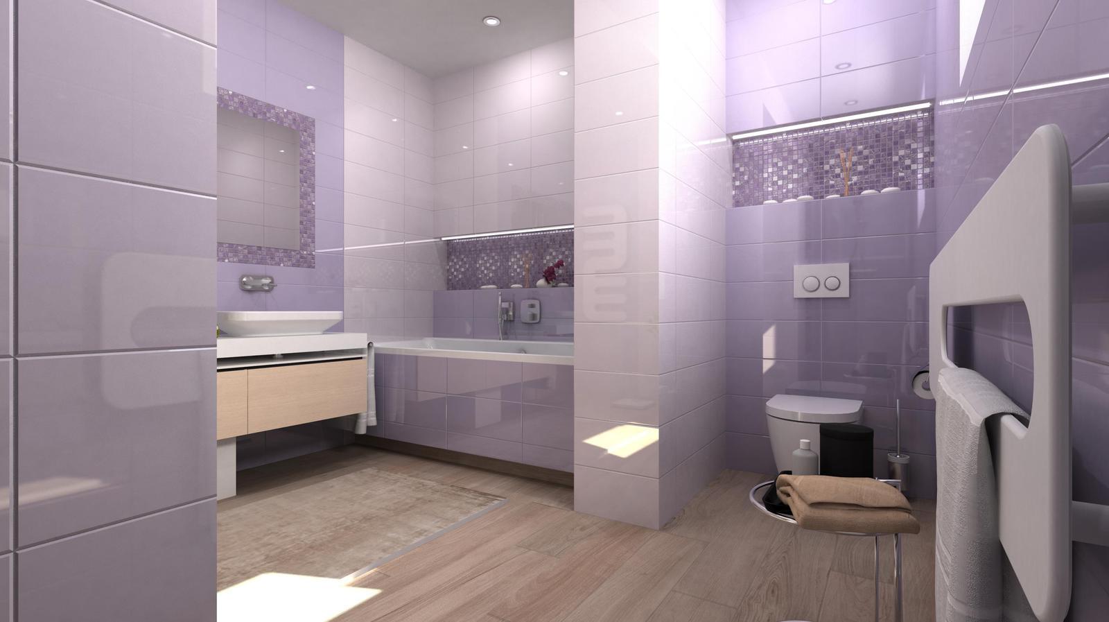 Vizualizácie kúpeľní - Obrázok č. 98