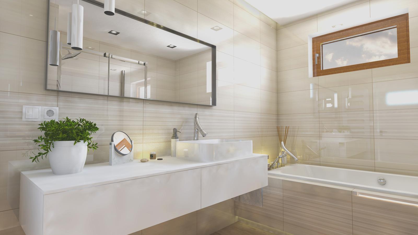 Vizualizácie kúpeľne - Vizualizácia kúpeľne Linear