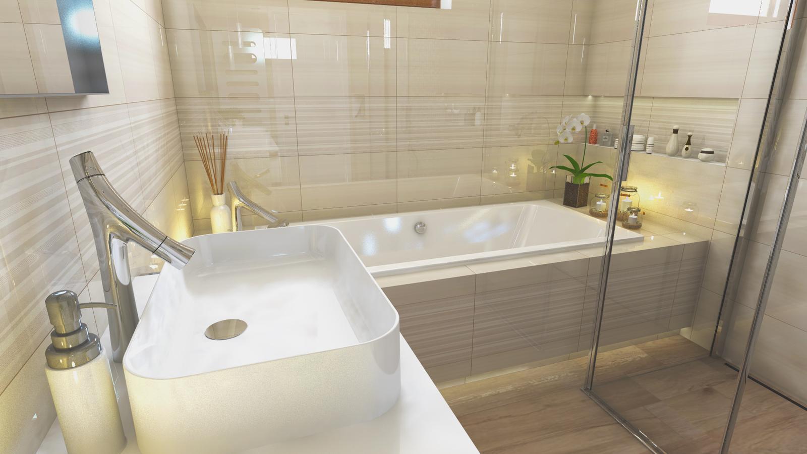 Vizualizácie kúpeľne - Obrázok č. 4