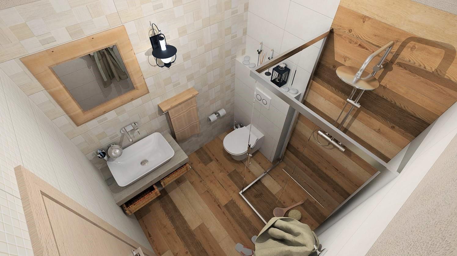 Vizualizácie kúpeľne - Obrázok č. 5