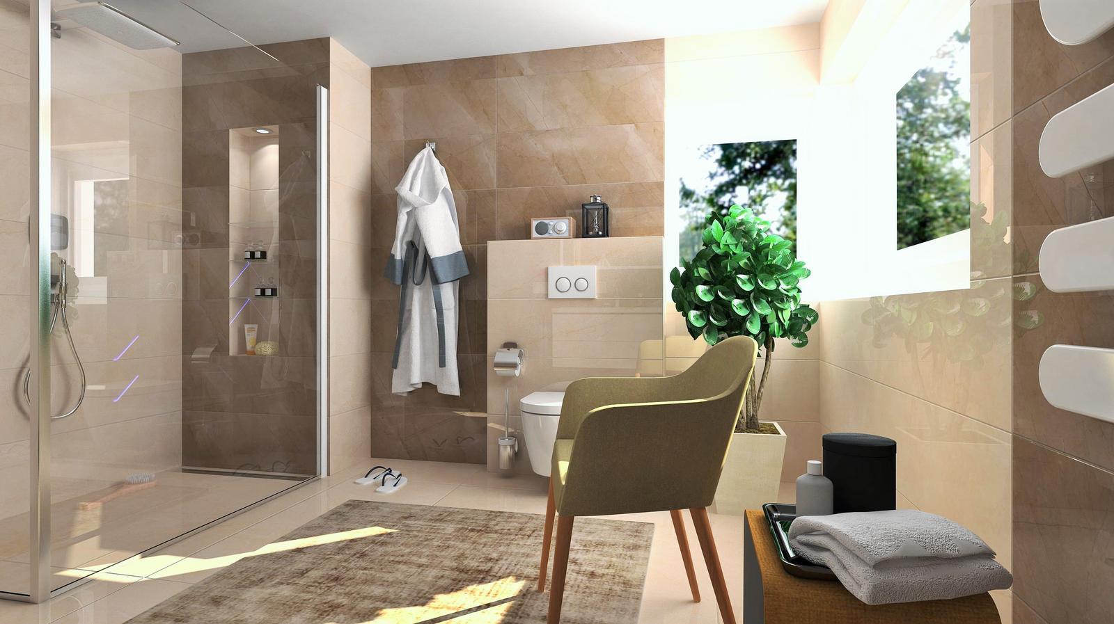 Vizualizácie kúpeľne - Obrázok č. 11