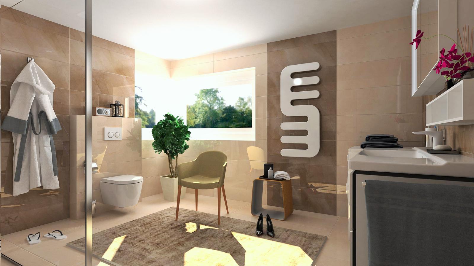 Vizualizácie kúpeľne - Obrázok č. 13