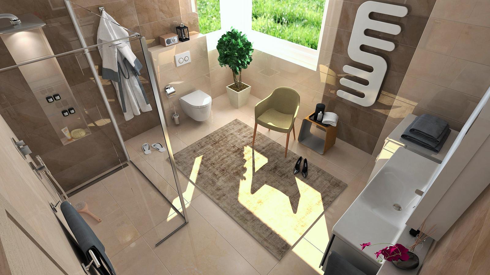 Vizualizácie kúpeľne - Obrázok č. 14