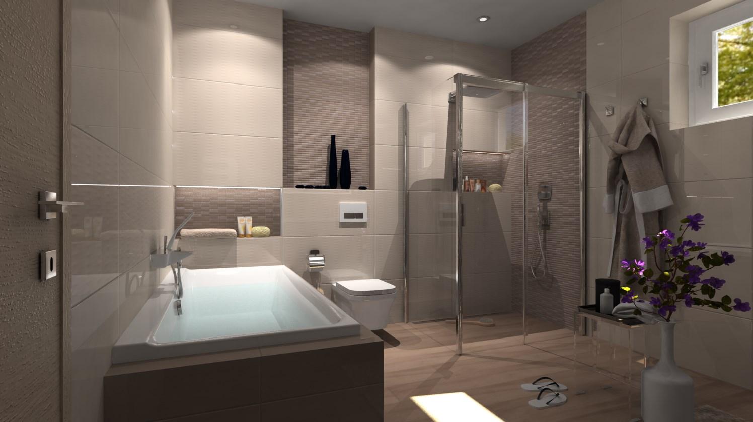 Vizualizácie kúpeľne - Obrázok č. 22