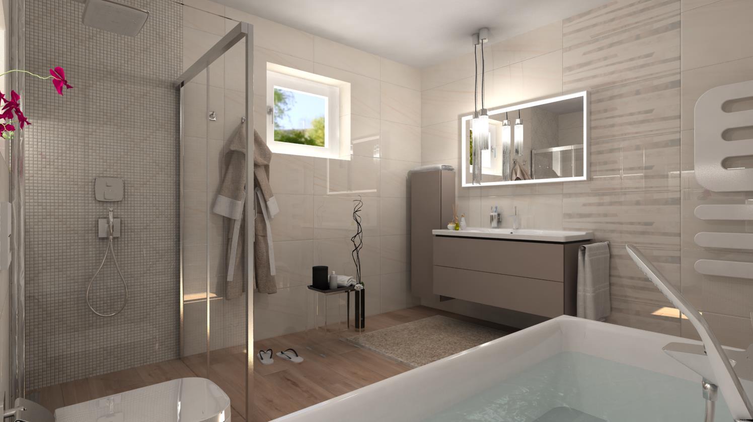 Vizualizácie kúpeľne - Obrázok č. 24