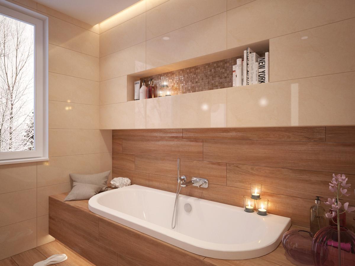 100+ riešení / Niky a murované poličky v kúpeľni / Naše 3D návrhy - Obrázok č. 7