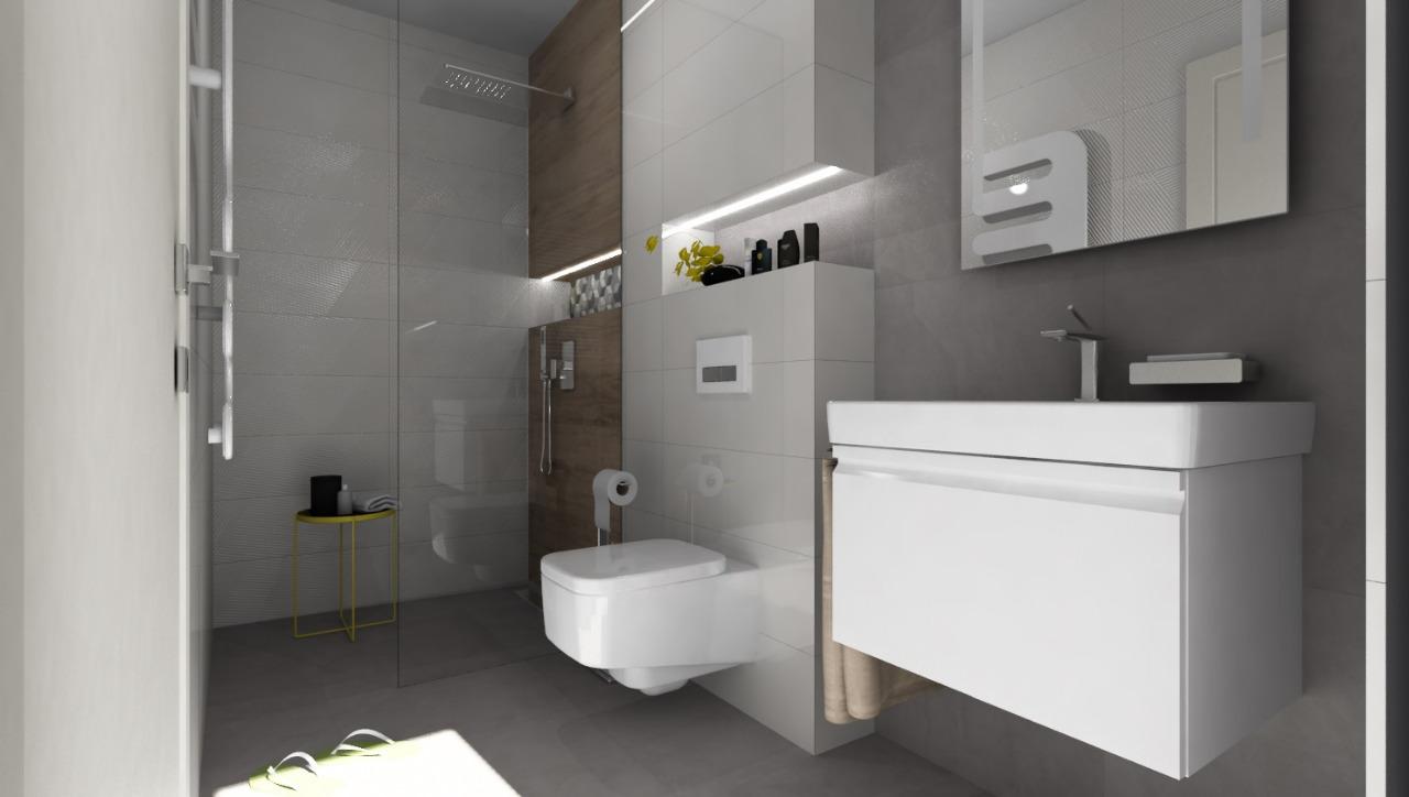 100+ riešení / Niky a murované poličky v kúpeľni / Naše 3D návrhy - Obrázok č. 16