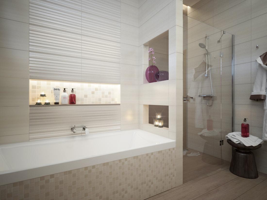 100+ riešení / Niky a murované poličky v kúpeľni / Naše 3D návrhy - Obrázok č. 52
