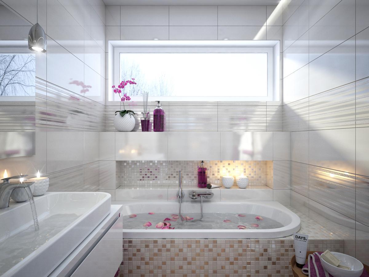 100+ riešení / Niky a murované poličky v kúpeľni / Naše 3D návrhy - Obrázok č. 59