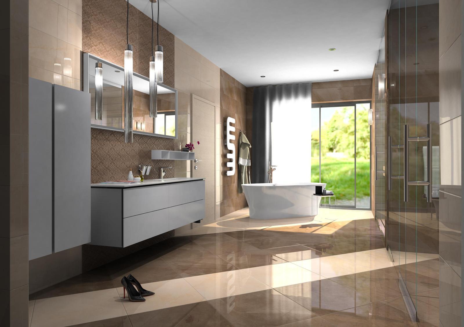 Vizualizácie kúpeľne - Obrázok č. 30