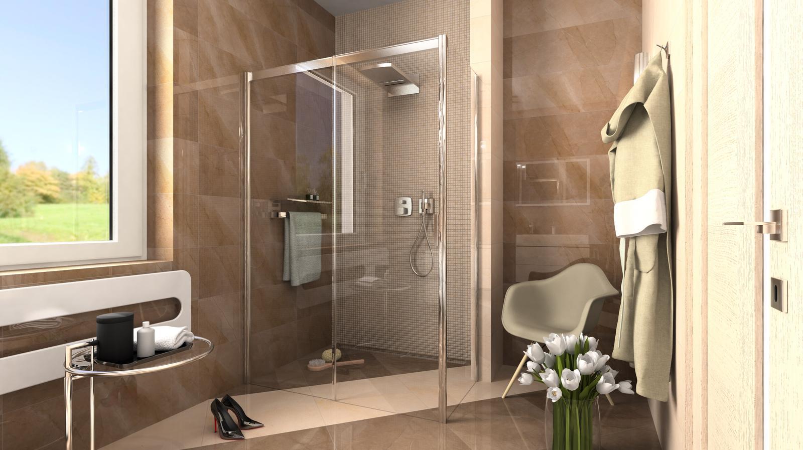 Vizualizácie kúpeľne - Obrázok č. 34