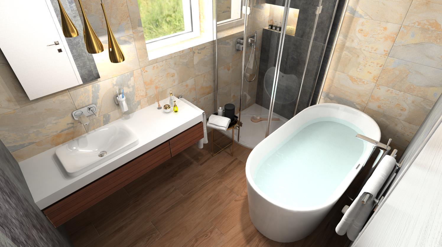 Vizualizácie kúpeľne - Obrázok č. 48