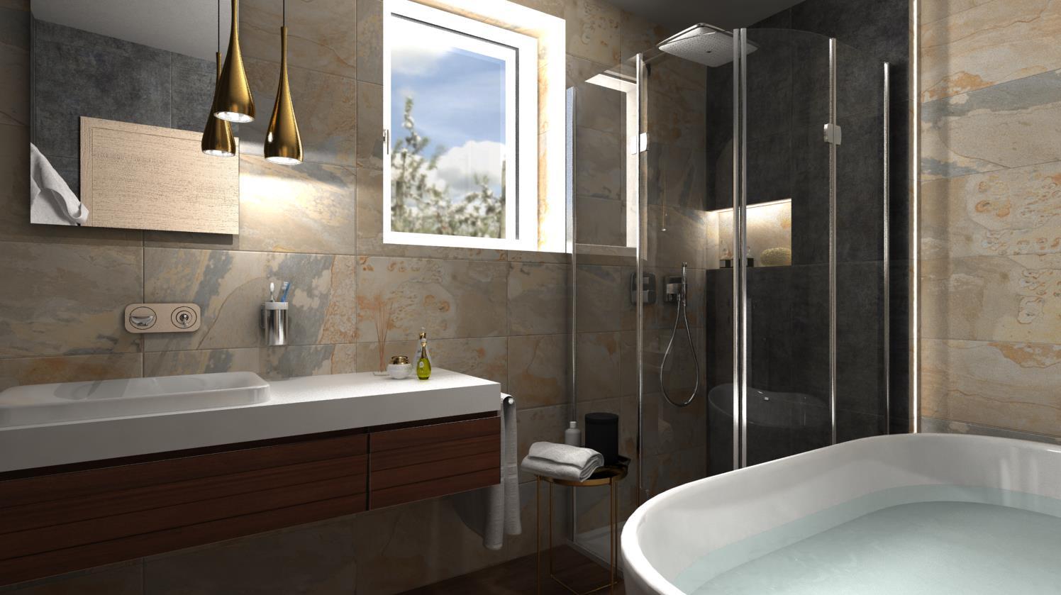 Vizualizácie kúpeľne - Obrázok č. 49