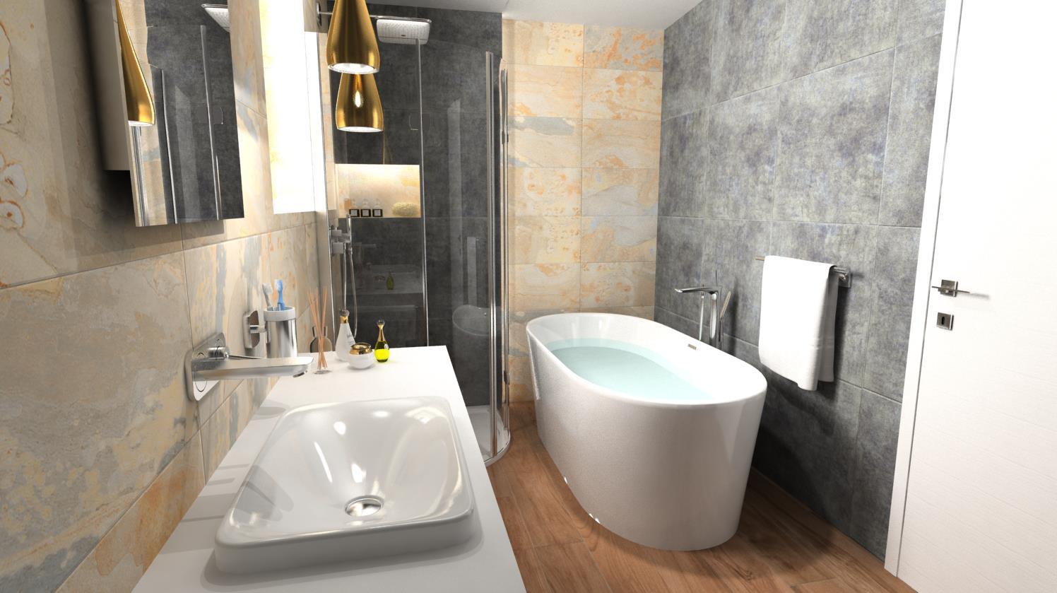 Vizualizácie kúpeľne - Obrázok č. 50