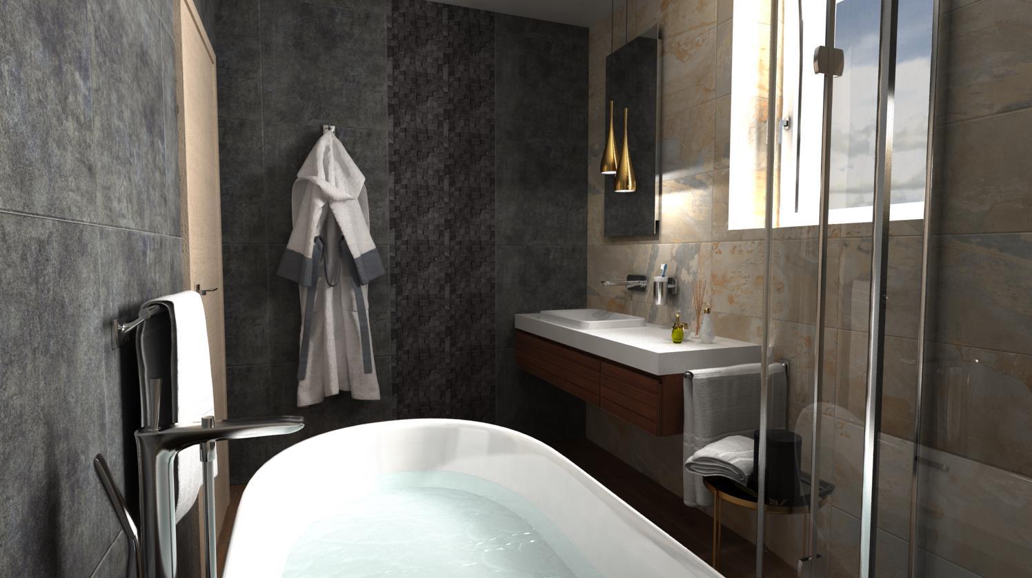 Vizualizácie kúpeľne - Obrázok č. 51