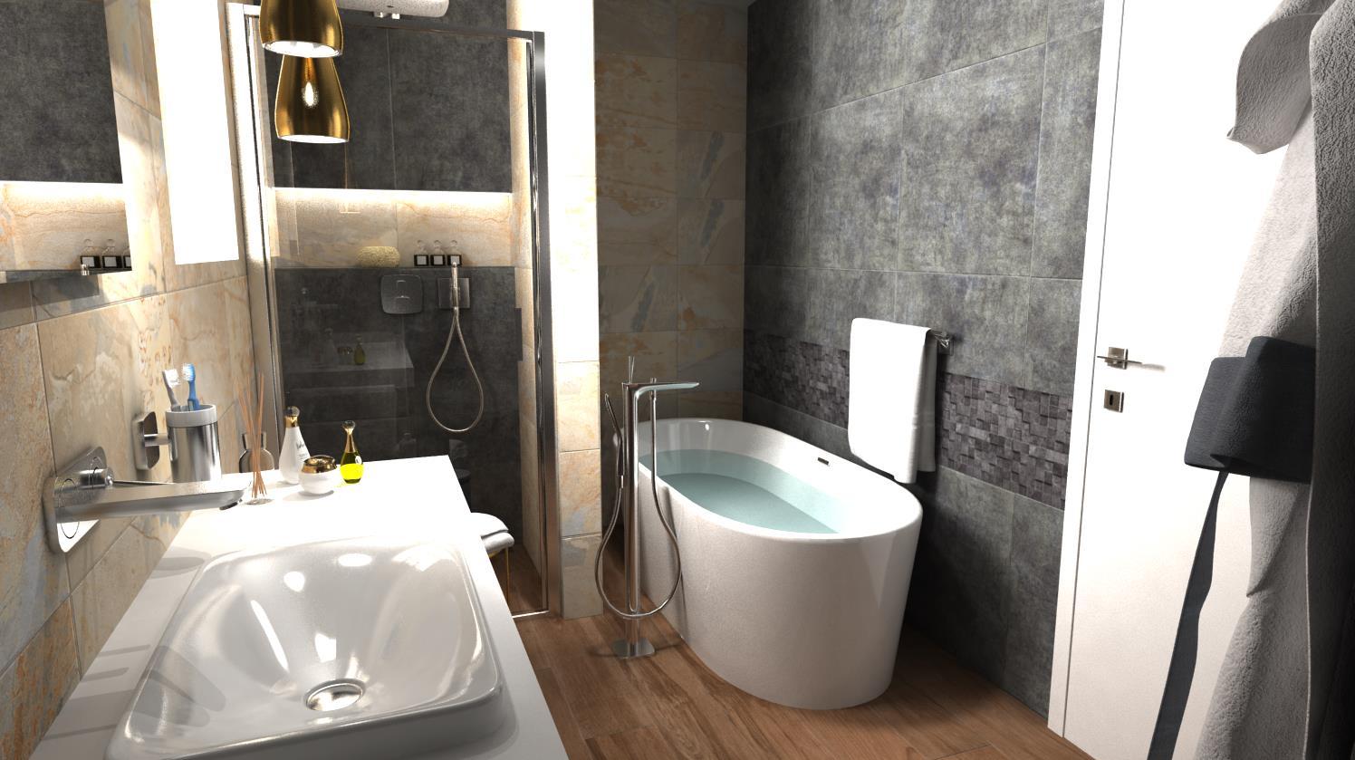 Vizualizácie kúpeľne - Obrázok č. 52