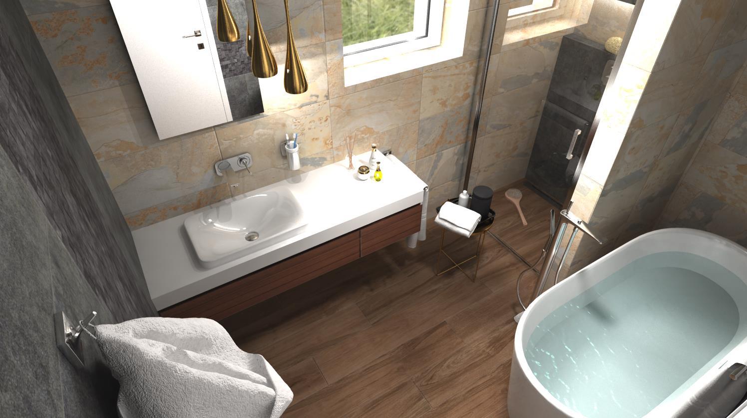 Vizualizácie kúpeľne - Obrázok č. 53