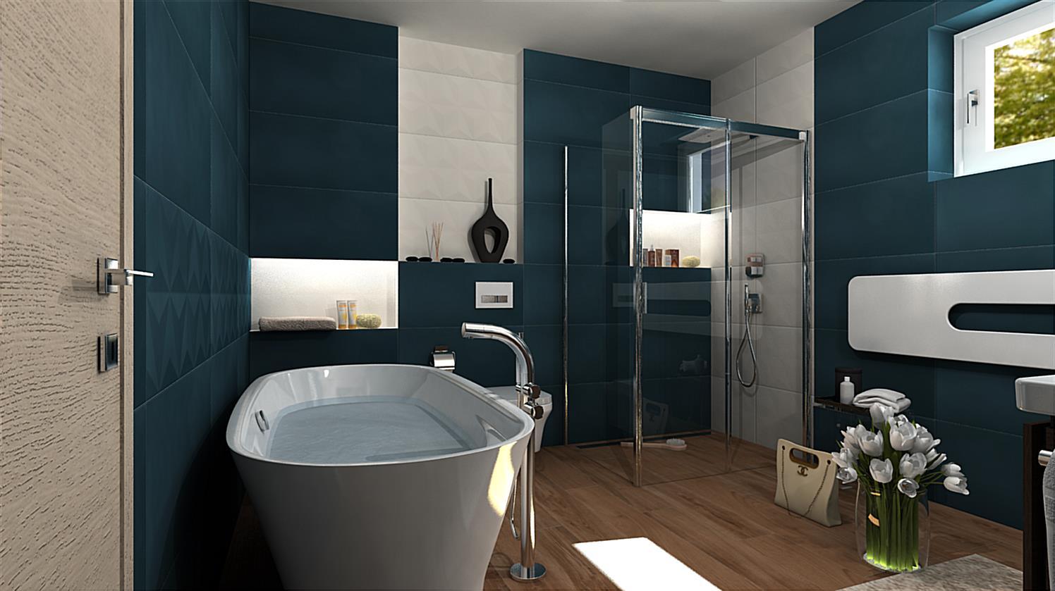 Vizualizácie kúpeľne - Obrázok č. 77