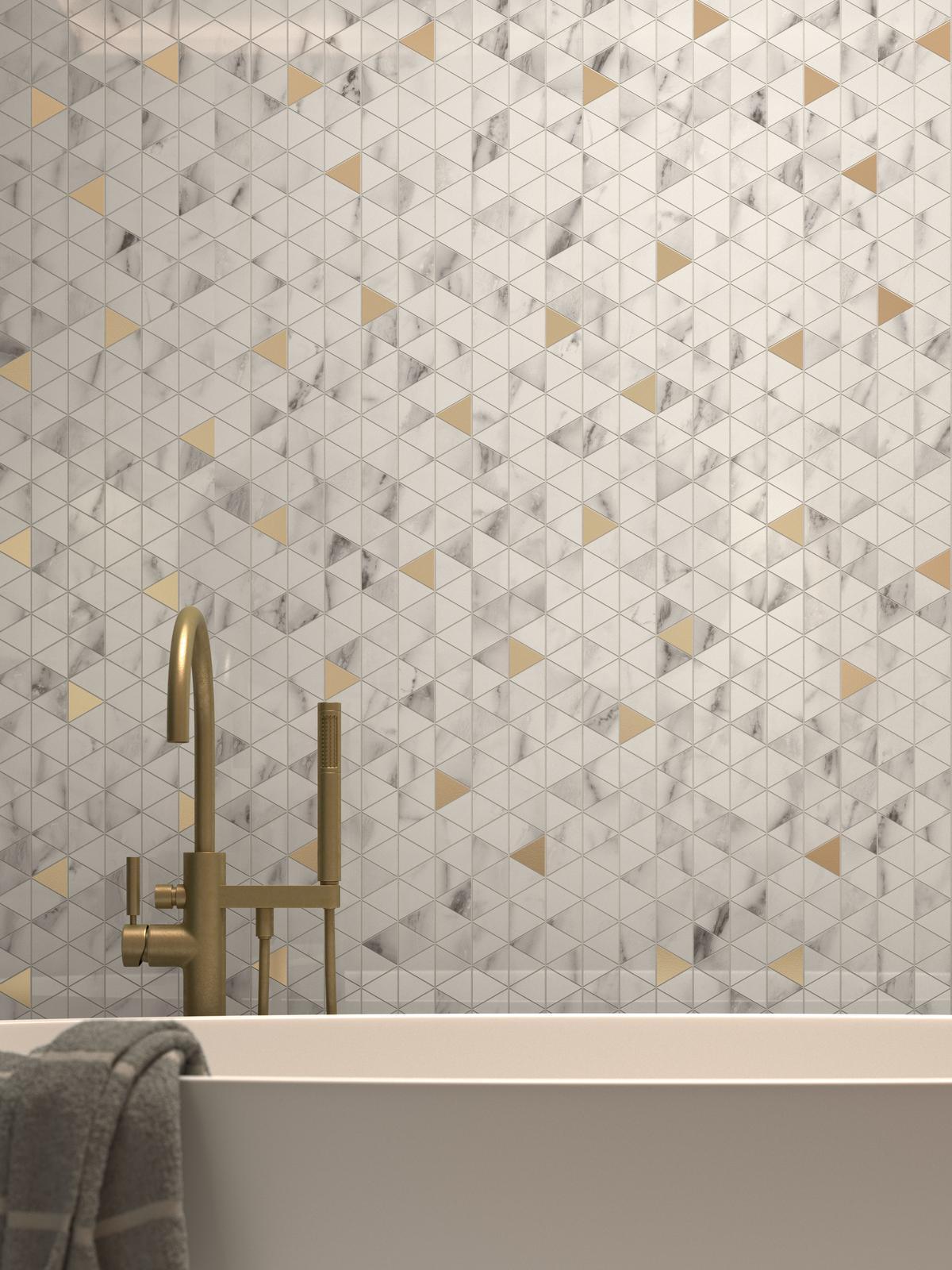 Luxusné kúpeľne / MARBLE elegancia mramoru - Obrázok č. 37