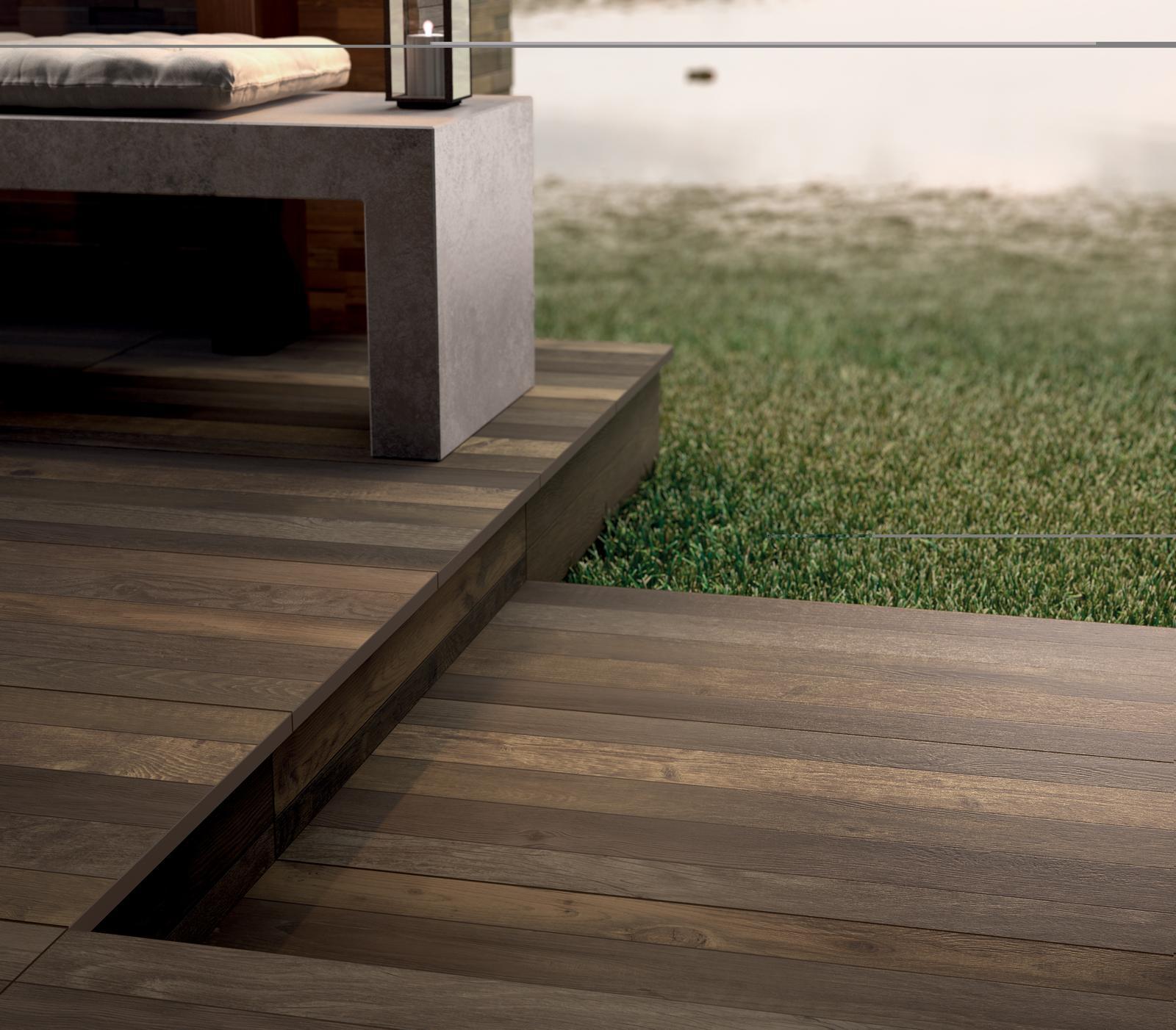 Exteriérová dlažba - Imitácia dreva 2 cm dlažba