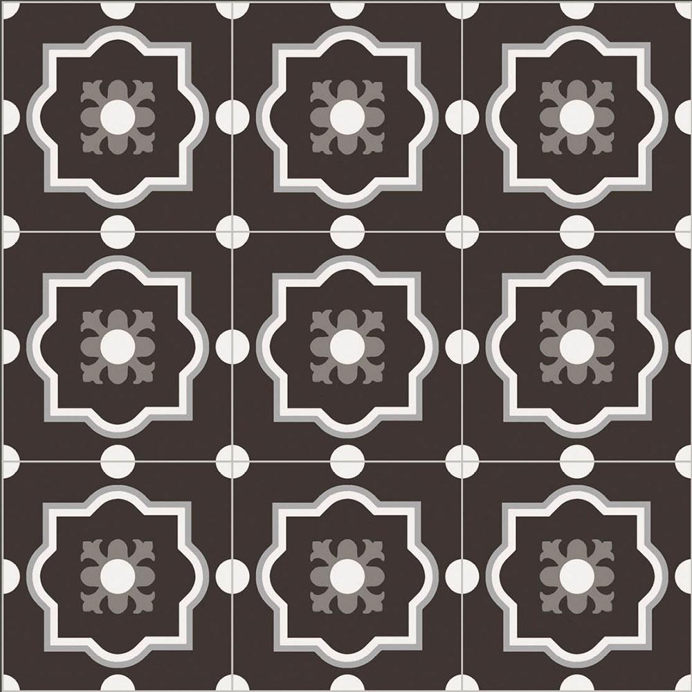 RETRO obklady / dlažby - Patchwork BlackWhite 4, BENEVA