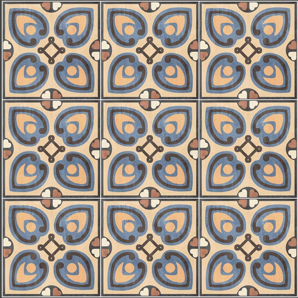 RETRO obklady / dlažby - Patchwork Colors