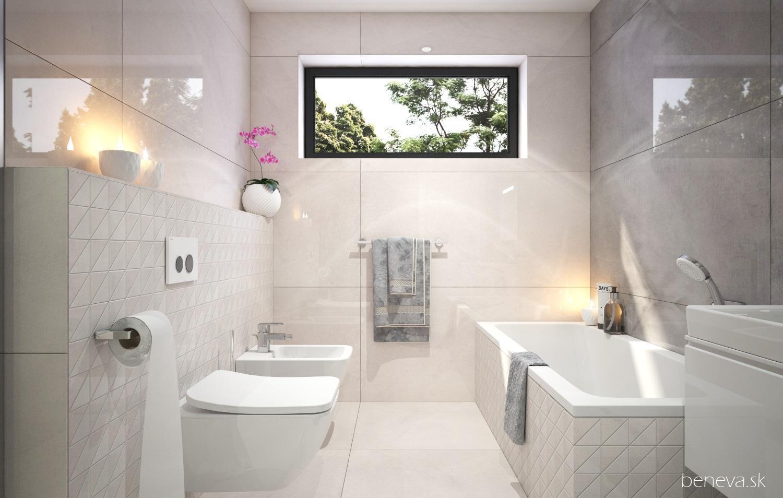 // Vizualizácia kúpeľne // - Vizualizácia kúpeľne BENEVA