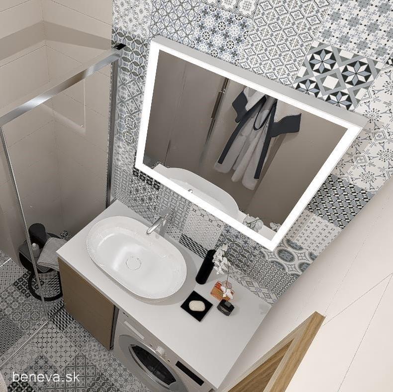MALÁ KÚPEĽŇA / Vizualizácie - Malá kúpeľňa / Vizualizácia