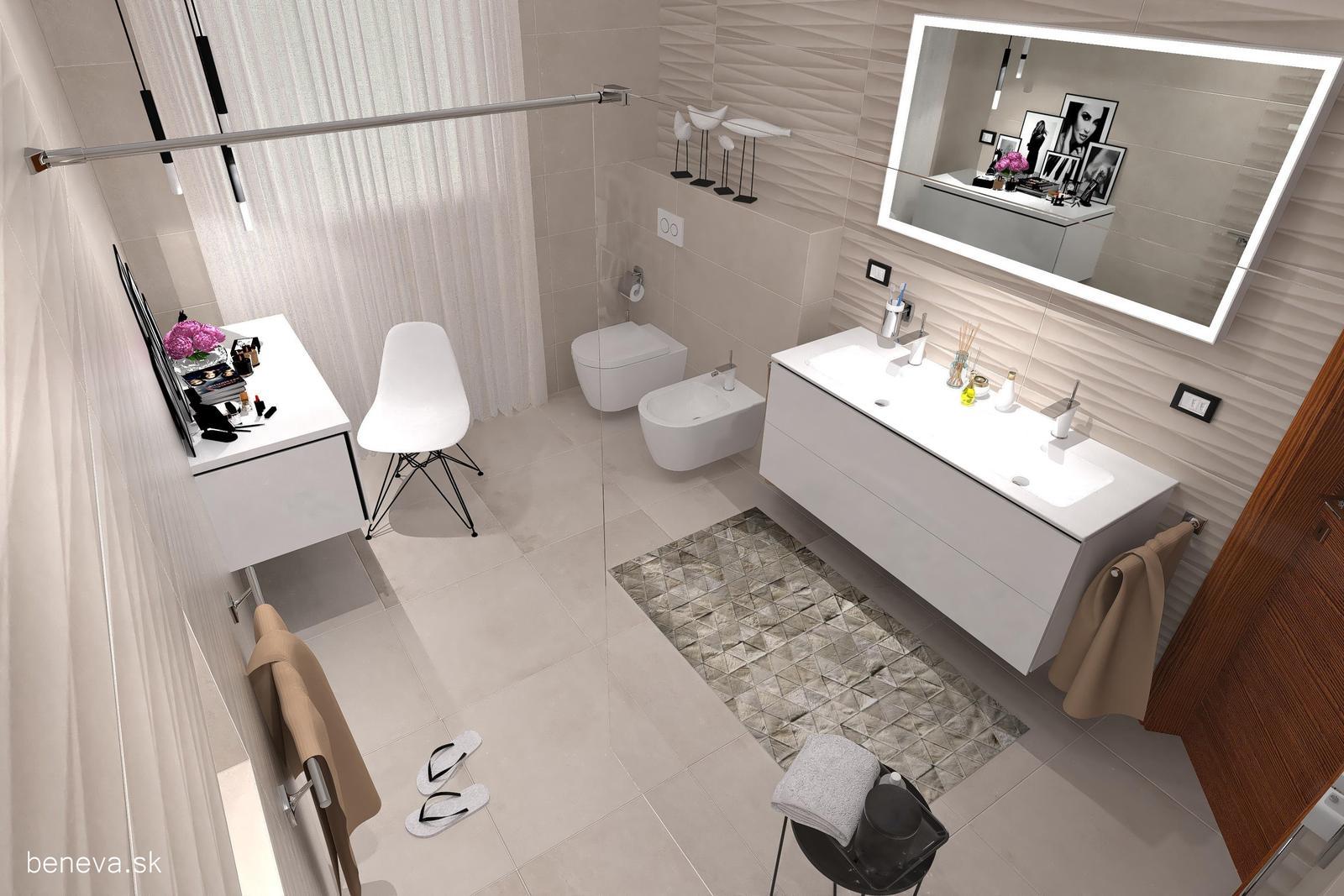 3D návrhy kúpeľní / Vizualizácie - Obrázok č. 15