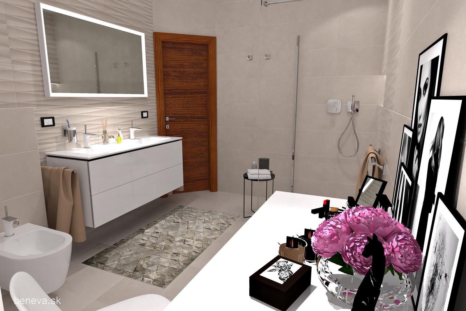 3D návrhy kúpeľní / Vizualizácie - Obrázok č. 17