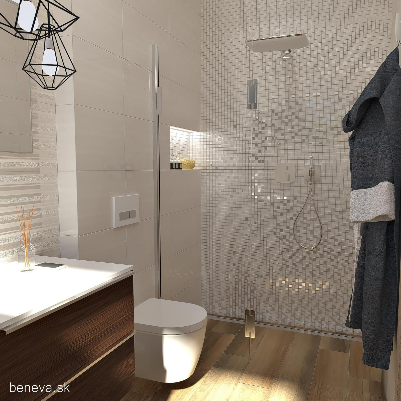 Keramické mozaiky - Mozaika Desire Grey 30,5x30,5