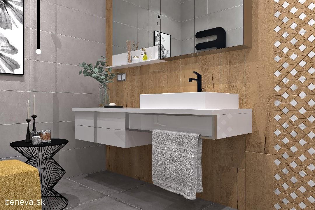 Moderná kúpeľňa / Vizualizácia - Obrázok č. 12