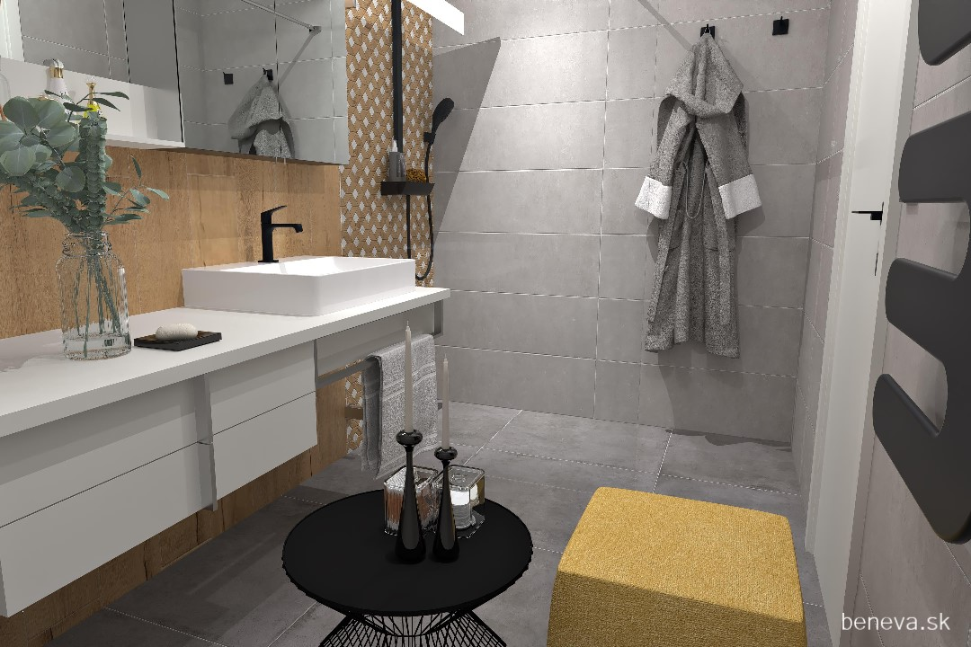 Moderná kúpeľňa / Vizualizácia - Obrázok č. 13