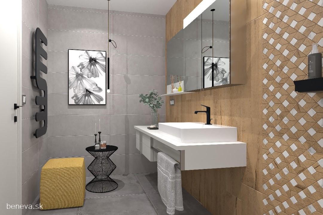 Moderná kúpeľňa / Vizualizácia - Obrázok č. 14