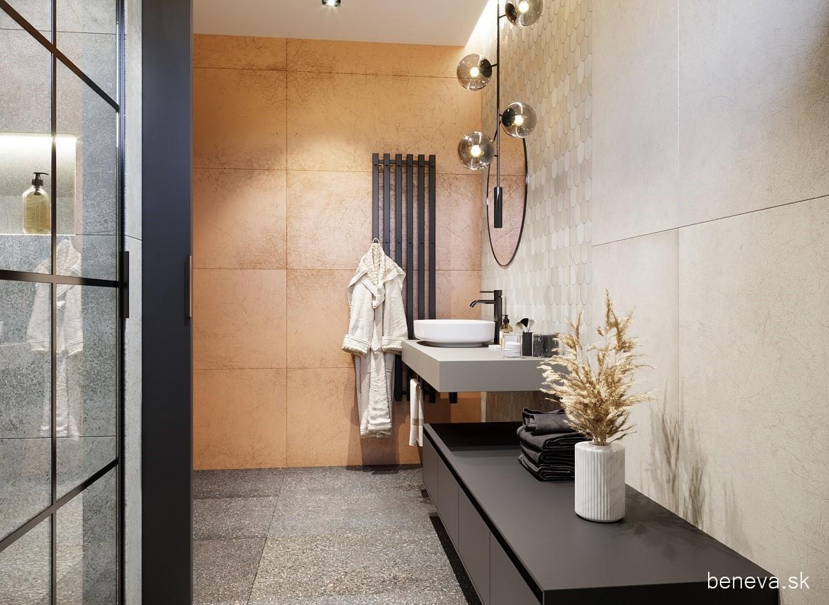 Návrh kúpeľne s metalickým efektom - Obrázok č. 8