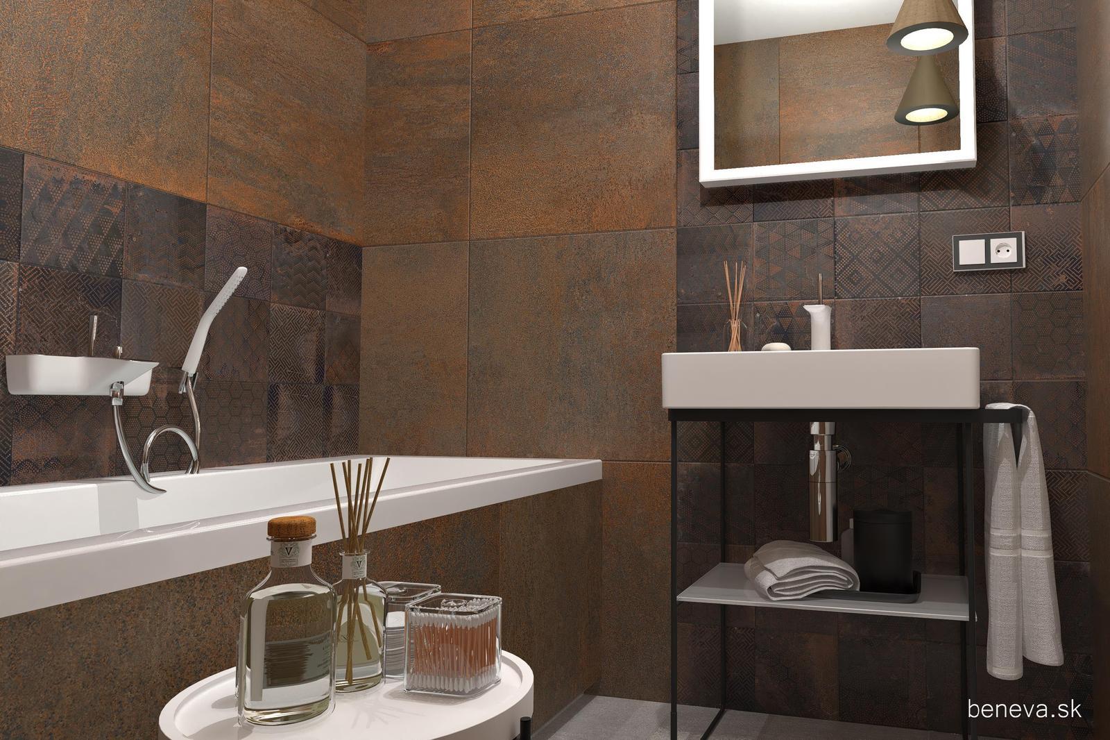 Návrh kúpeľne s metalickým efektom - Obrázok č. 12