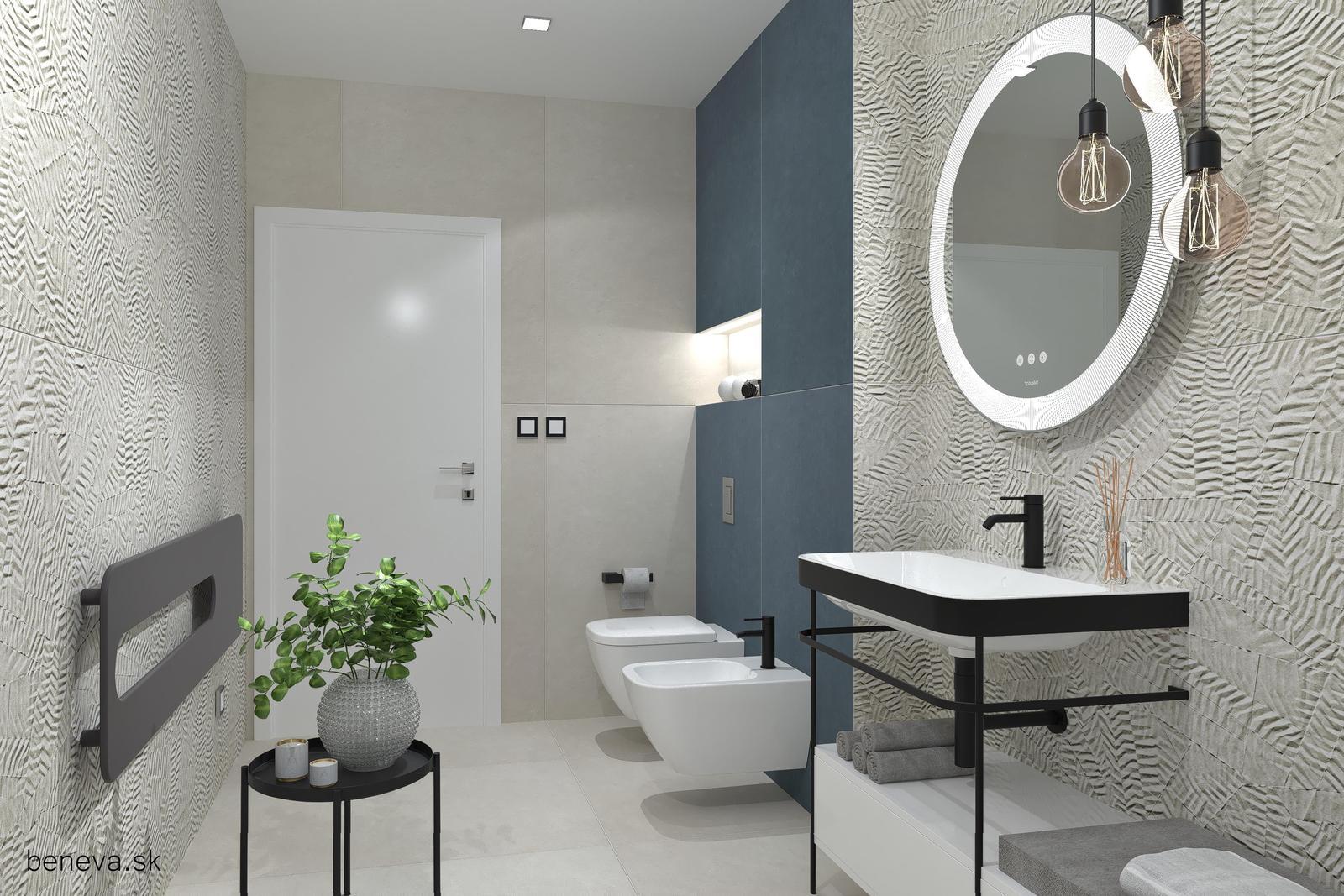 Modrá kúpeľňa / Vizualizácie - Obrázok č. 23