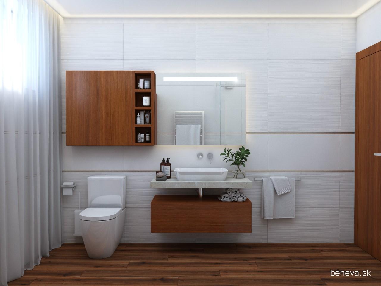 Moderná kúpeľňa / Vizualizácia - Obrázok č. 15