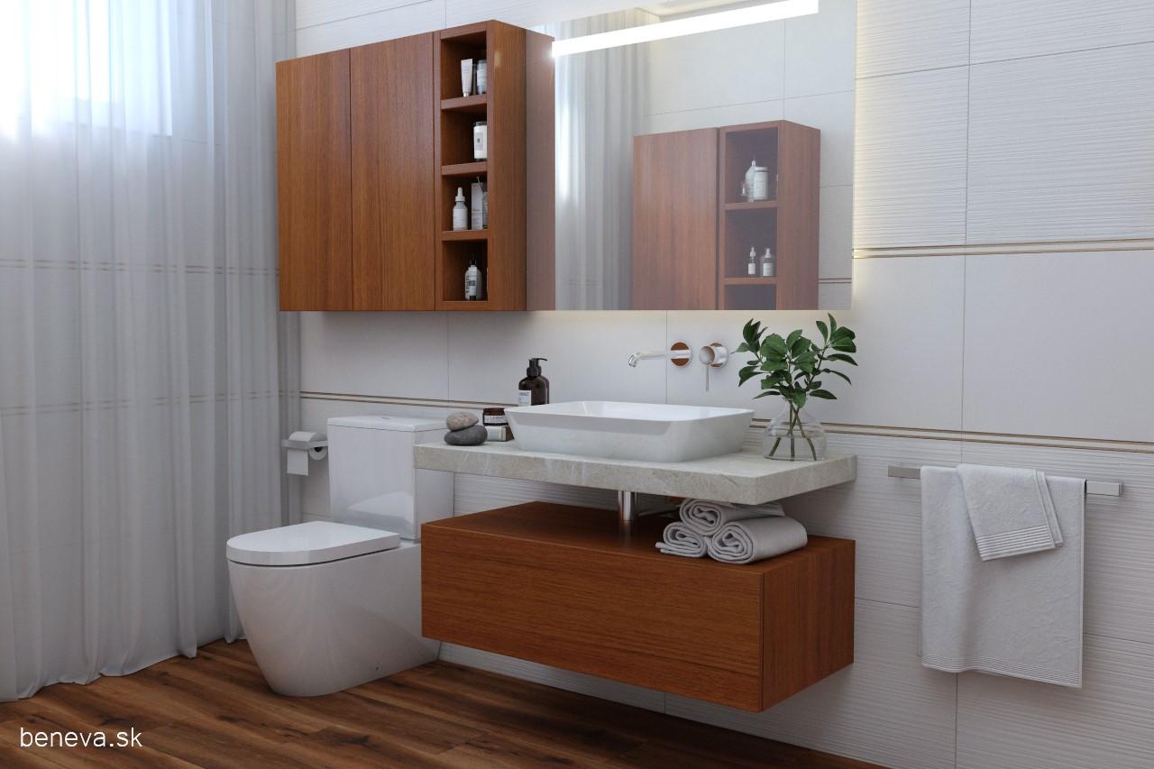 Moderná kúpeľňa / Vizualizácia - Obrázok č. 17