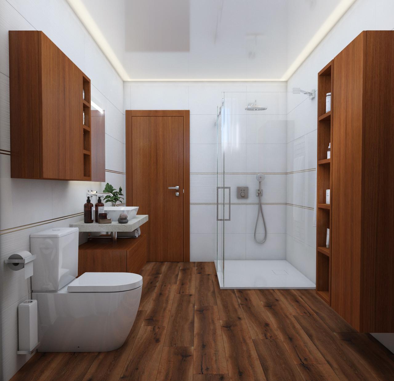 Moderná kúpeľňa / Vizualizácia - Obrázok č. 18