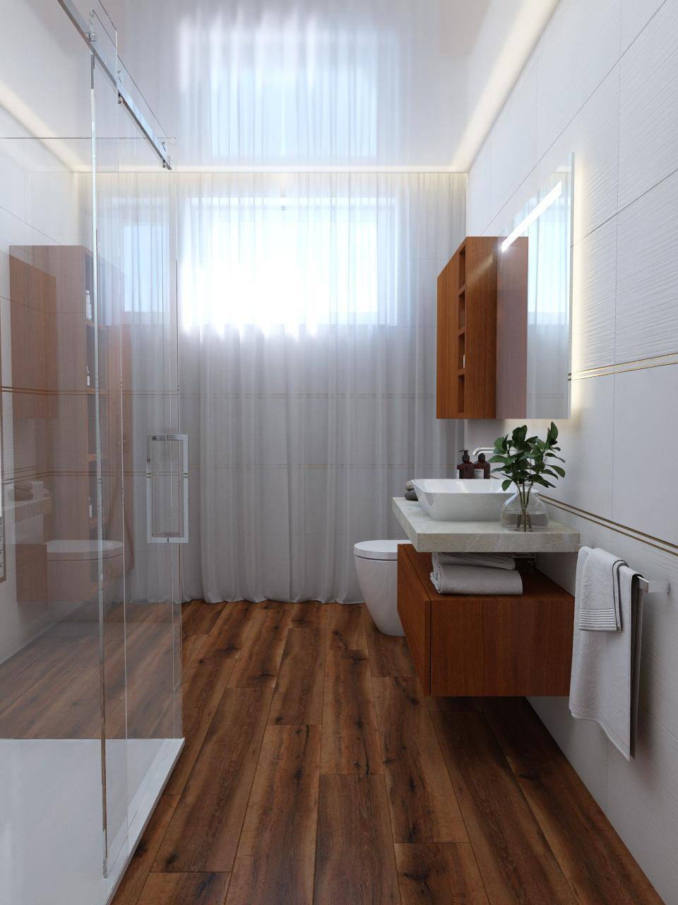 Moderná kúpeľňa / Vizualizácia - Obrázok č. 19
