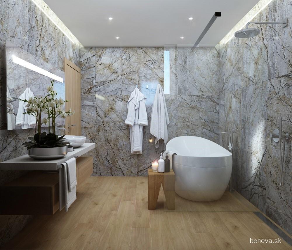 Mramorová kúpeľňa - Vizualizácie - Obrázok č. 32