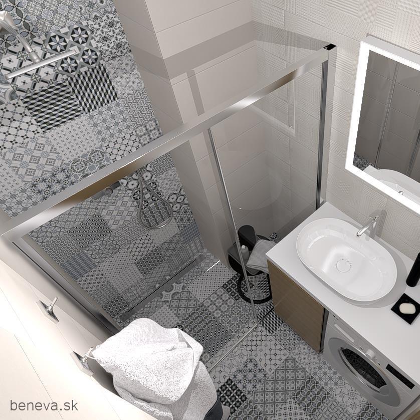 Vizualizácie / Malé kúpeľne a WC - Obrázok č. 16